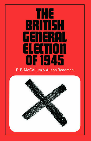 The British General Election book cover
