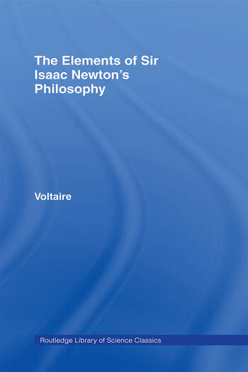 The Elements of Newton's Philosophy book cover