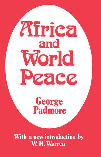 Africa and World Peace book cover