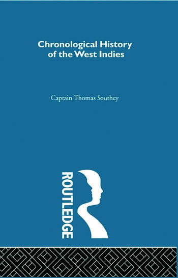 Chronicle History of the West Indies book cover