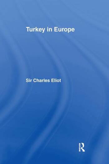 Turkey in Europe book cover