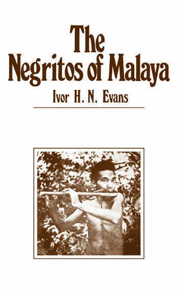 Negritos of Malaya book cover