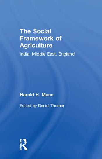 Social Framework of Agriculture book cover