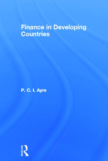 Finance in Developing Countries book cover