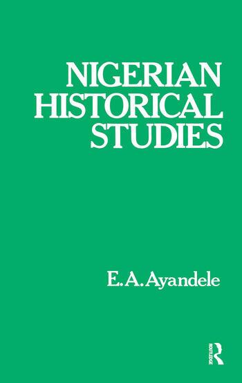 Nigerian Historical Studies book cover