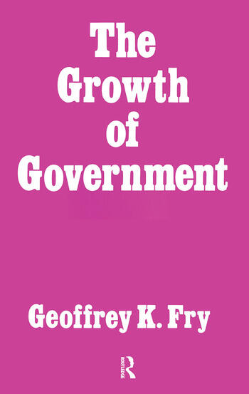 Growth of Government book cover