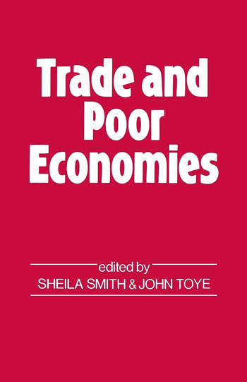 Trade and Poor Economies book cover