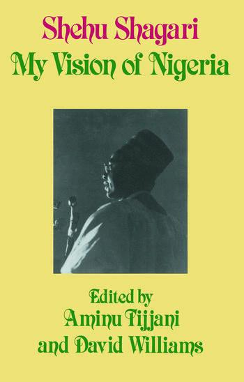 My Vision of Nigeria My Vision of Nigeria book cover