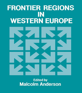 Frontier Regions in Western Europe book cover