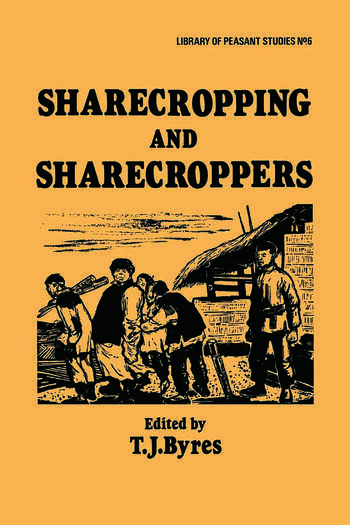 Sharecropping and Sharecroppers book cover