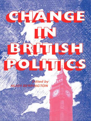 Change In British Politics book cover