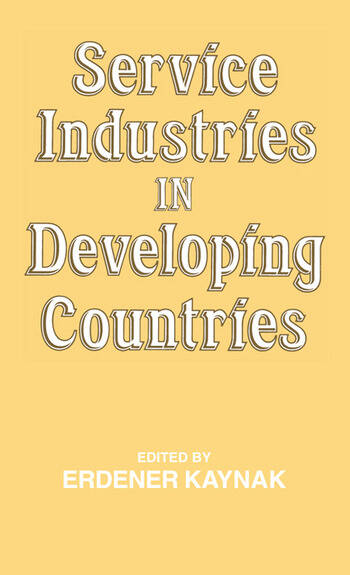 Service Industries in Developing Countries book cover