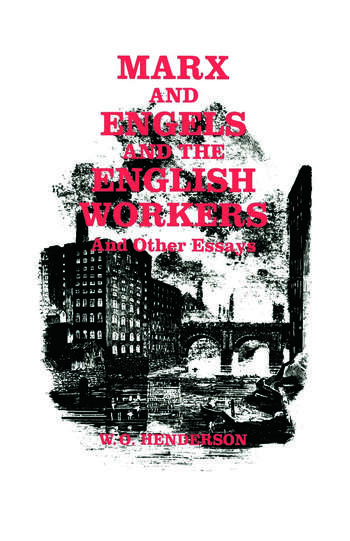Marx and Engels and the English Workers And Other Essays book cover