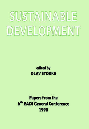 Sustainable Development book cover