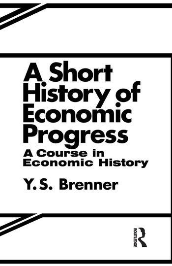 A Short History of Economic Progress book cover