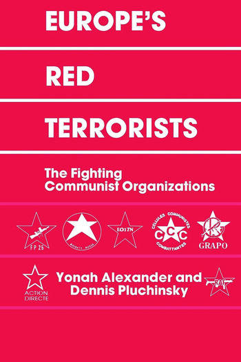 Europe's Red Terrorists The Fighting Communist Organizations book cover