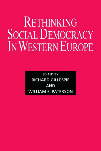 Rethinking Social Democracy in Western Europe book cover