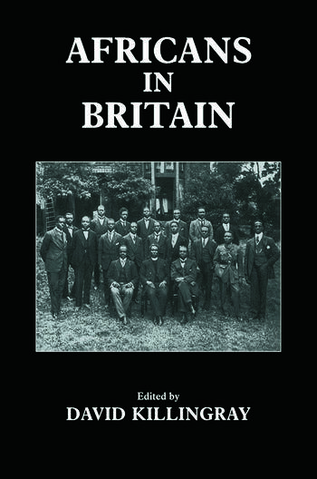 Africans in Britain book cover