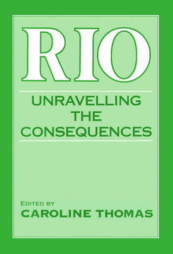 Rio Unravelling the Consequences book cover