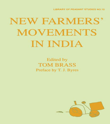 New Farmers' Movements in India book cover