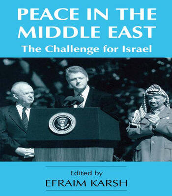 Peace in the Middle East The Challenge for Israel book cover