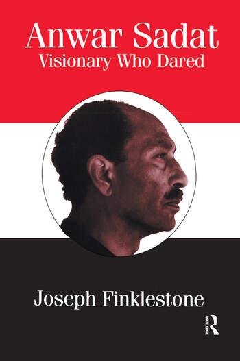 Anwar Sadat Visionary Who Dared book cover