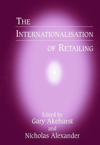 The Internationalisation of Retailing book cover