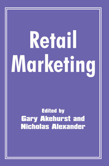 Retail Marketing book cover