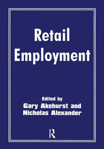 Retail Employment book cover