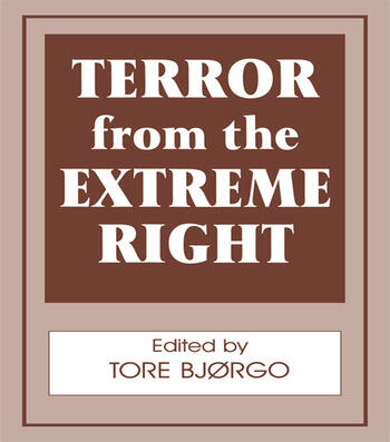 Terror from the Extreme Right book cover