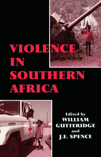 Violence in Southern Africa book cover