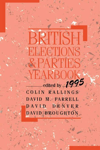 British Elections and Parties Yearbook book cover