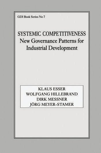 Systemic Competitiveness New Governance Patterns for Industrial Development book cover