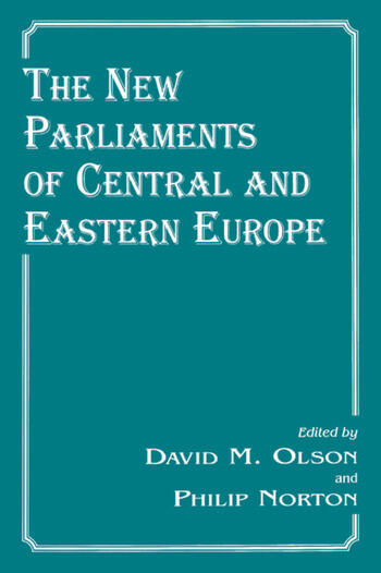 The New Parliaments of Central and Eastern Europe book cover