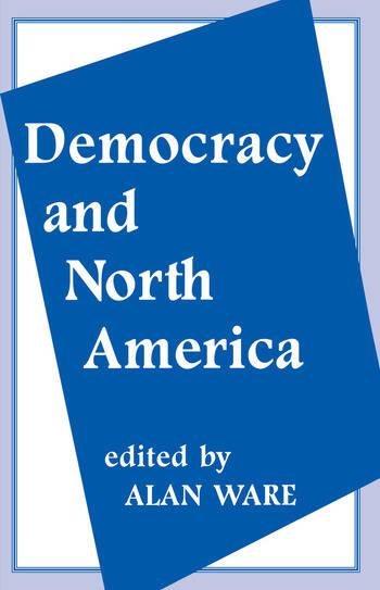 Democracy and North America book cover