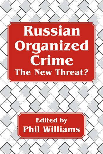 Russian Organized Crime book cover