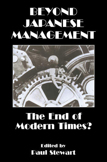 Beyond Japanese Management The End of Modern Times? book cover