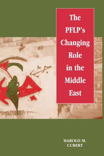 The PFLP's Changing Role in the Middle East book cover