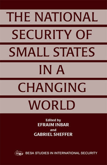 The National Security of Small States in a Changing World book cover