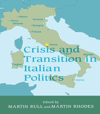 Crisis and Transition in Italian Politics book cover