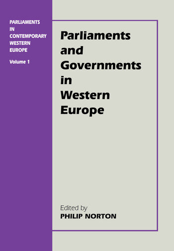 Parliaments in Contemporary Western Europe book cover