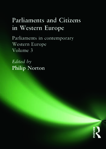 Parliaments and Citizens in Western Europe book cover