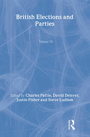 British Elections and Parties Review book cover