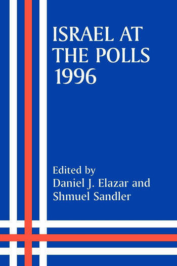 Israel at the Polls, 1996 book cover