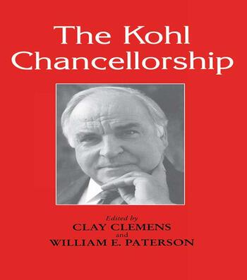 The Kohl Chancellorship book cover