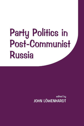Party Politics in Post-communist Russia book cover