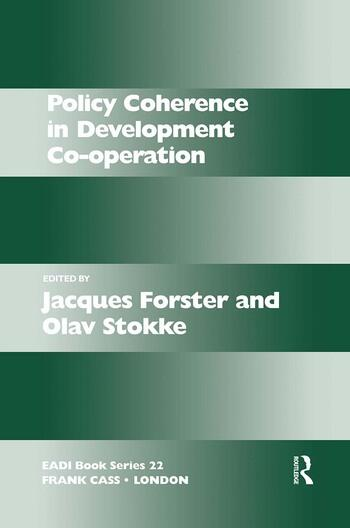 Policy Coherence in Development Co-operation book cover