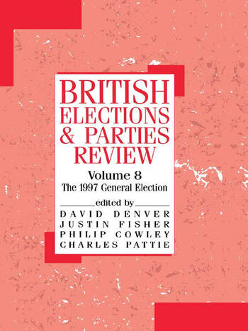 British Elections and Parties Review The General Election of 1997 book cover