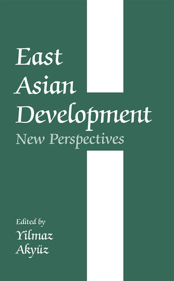 East Asian Development New Perspectives book cover