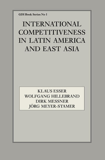 International Competitiveness in Latin America and East Asia book cover